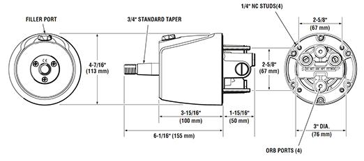 Standard Helm | Pier 21 Steering