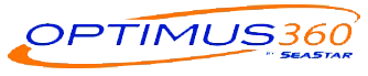 Optimus 360 Logo | Pier 21 Steering